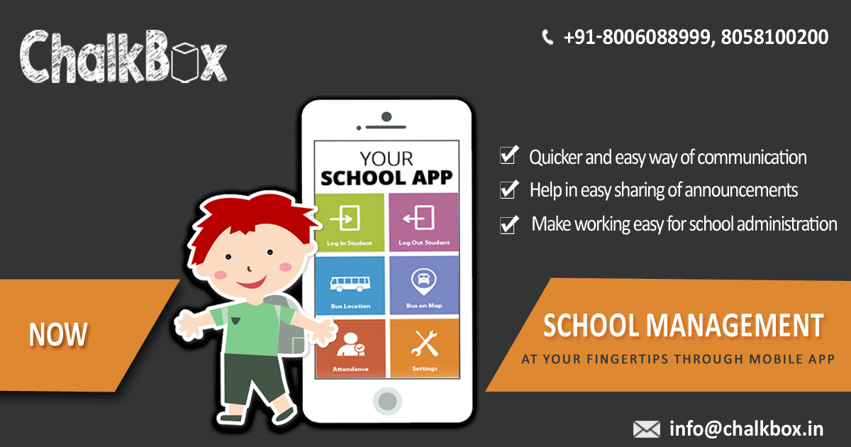 School Management Software in India, Institute Management Software in  India, College Management Software in India | ChalkBox