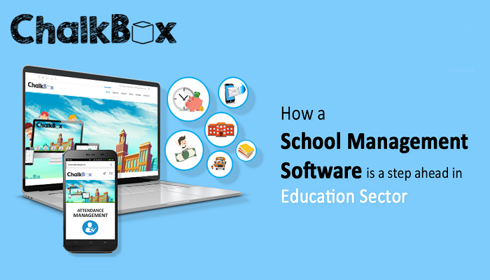 Technology Management Image: How A School Management Software Is A Step Ahead In